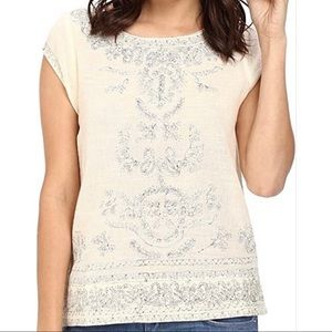 Joie | Tilbury Cotton Embroidered Top